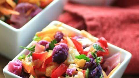 Farmer's Market Cauliflower Salad