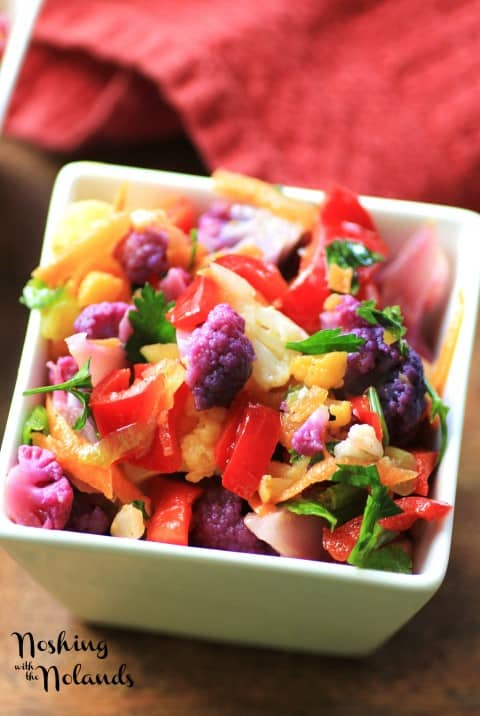 Farmers Market Cauliflower Salad by Noshing With The Nolands