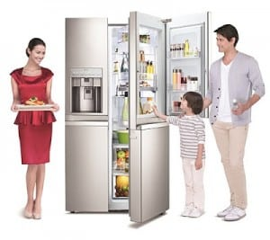 LG Fridge Door in Door 2014