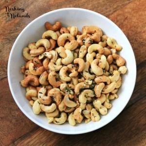 Herb Roasted Cashews