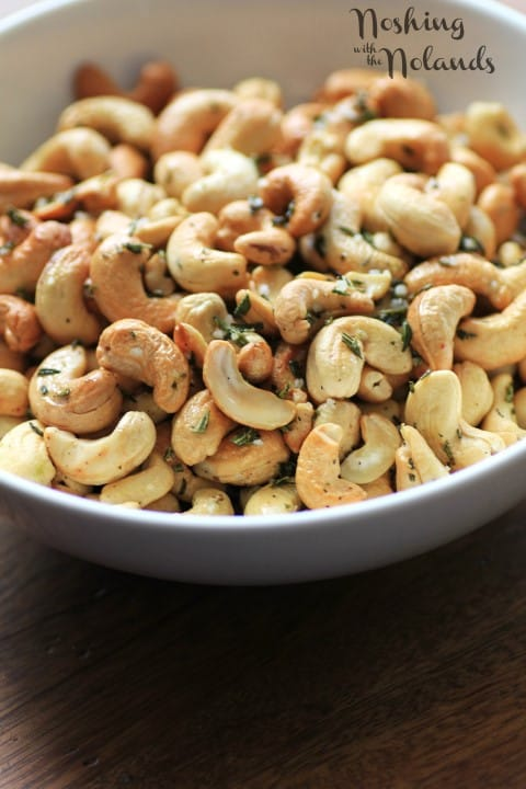 Herb Roasted Cashews by Noshing With The Nolands