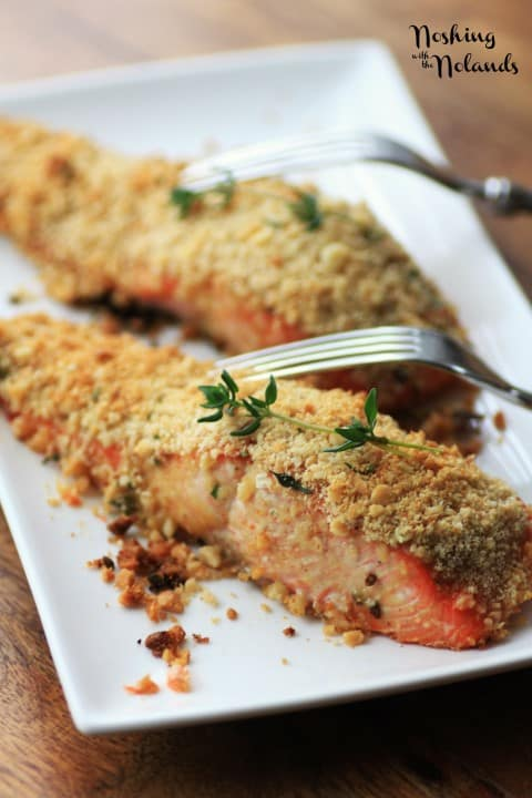 Macadamia Panko Crusted Salmon by Noshing With The Nolands