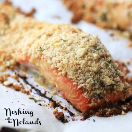 Macadamia Panko Crusted Salmon by Noshing With The Nolands (Small)