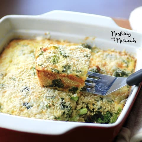 Quinoa Quiche by Noshing With The Nolands