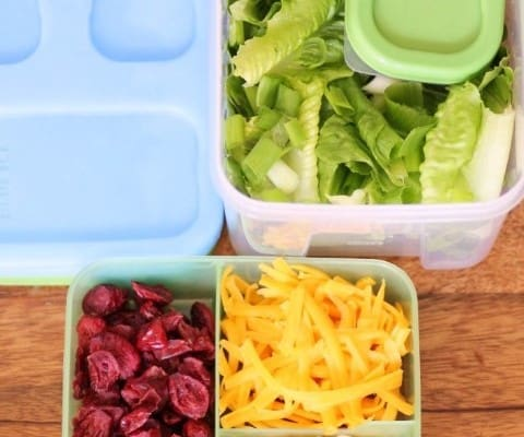Mouth Watering Mondays – Salad Kit for Back to School