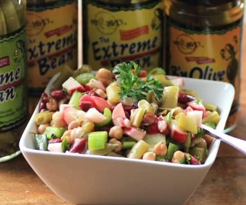 Sweet and Savoury Three Bean Salad