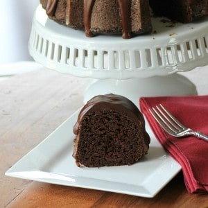 Chocolate Zucchini Bundt for #BundtBakers