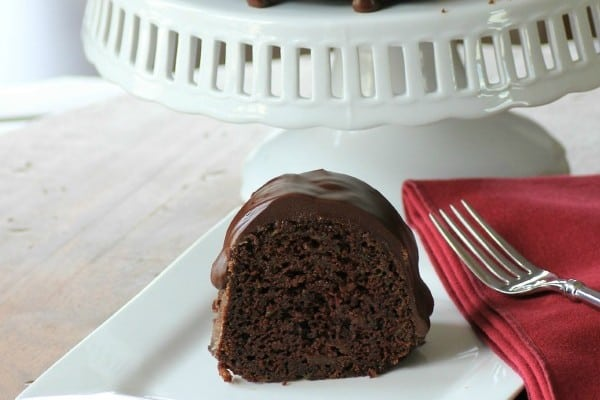 Chocolate Zucchini Bundt for #BundtBakers