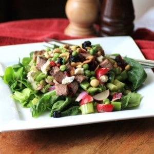 Chopped Steak Salad