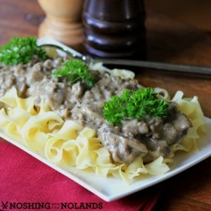 Hamburger Stroganoff #WeekdaySupper