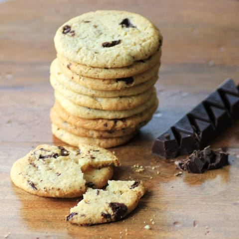 Peanut Butter Chocolate Chunk Cookies by Noshing With The Noland