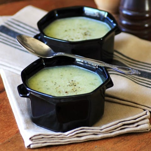 Zucchini Cheese Soup by Noshing With The Nolands