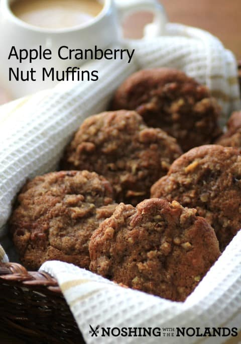 Apple Cranberry Nut Muffins by Noshing With The Nolands