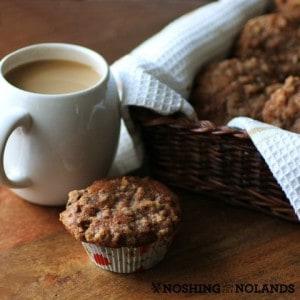 Apple Cranberry Nut Muffins #KitchenAid #Affresh #Giveaway