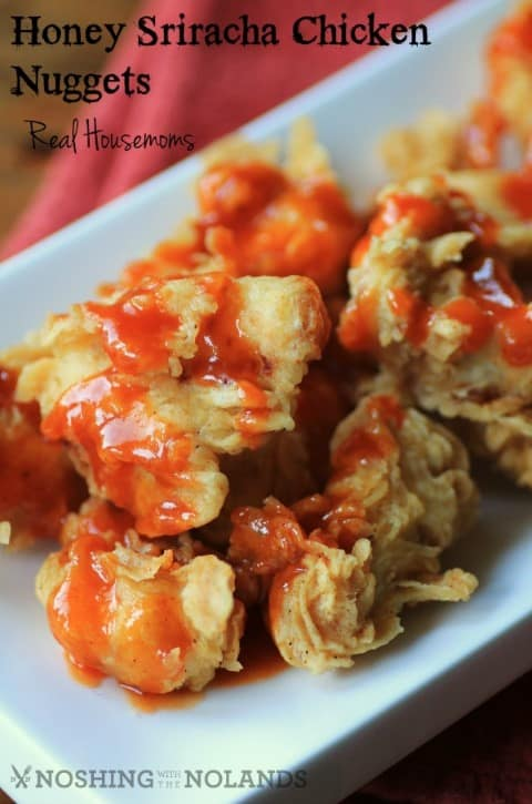 Honey Sriracha Chicken Nuggets by Noshing With The Nolands