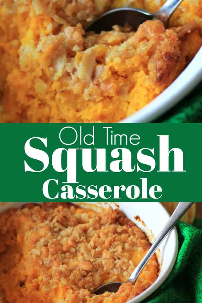 Old Time Squash Casserole