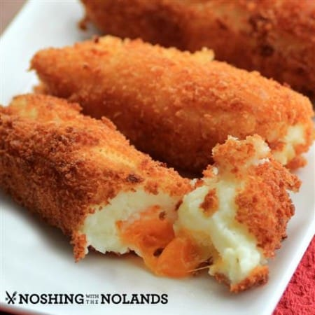 Cheesy Mashed Potato Croquettes by Noshing With The Nolands (Small)
