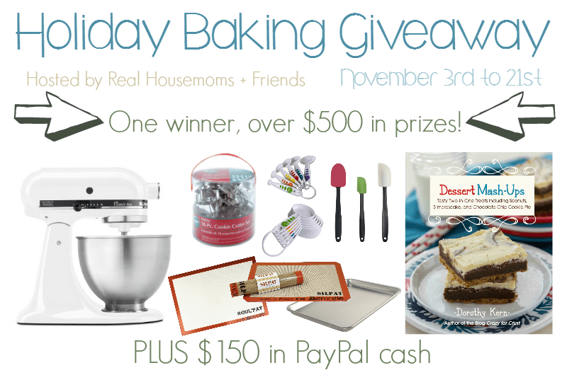 Holiday Baking Giveaway Horizontal Graphic (2)