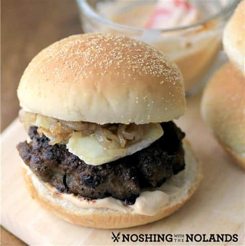 Maple Bison Blueberry Bugers by Noshing With The Nolands