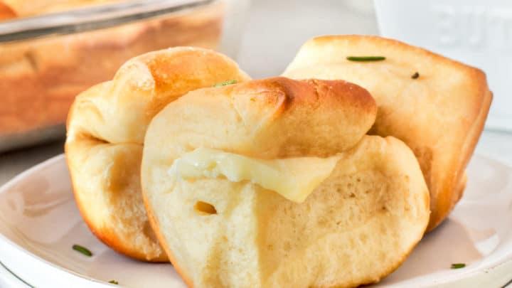 Parker House Rolls #BreadBakers