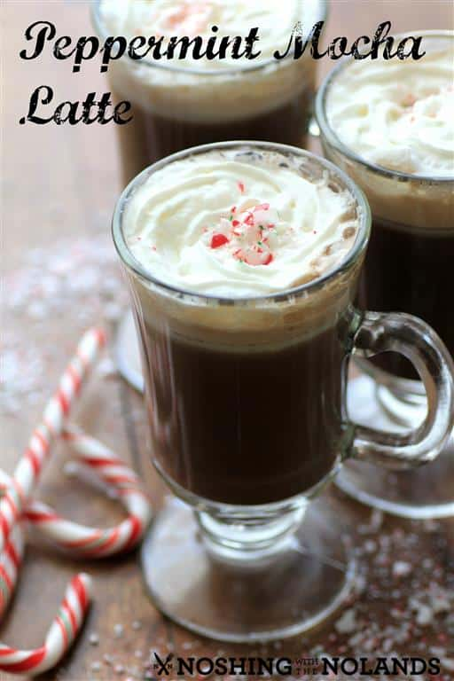Peppermint Mocha Latte by Noshing With The Nolands