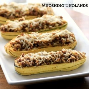 Sausage Stuffed Delicata Squash #KitchenAid
