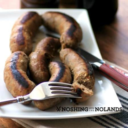 Spicy Beer Bratwurst by Noshing With The Nolands (Small)