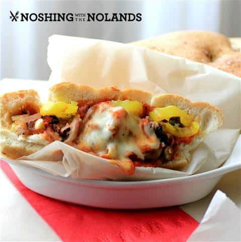 Steak Bomb by Noshing With The Nolands