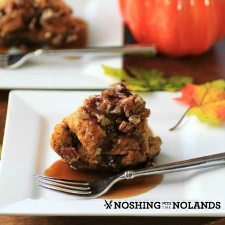 Tipsy Pumpkin Bread Pudding by Noshing With The Nolands (2) (Small)