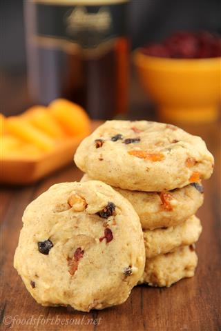 Fruitcake Cookies by Amy's Healthy Baking