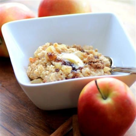 Apple Cinnamon Steel Cut Oats by Noshing With The Nolands (Small)
