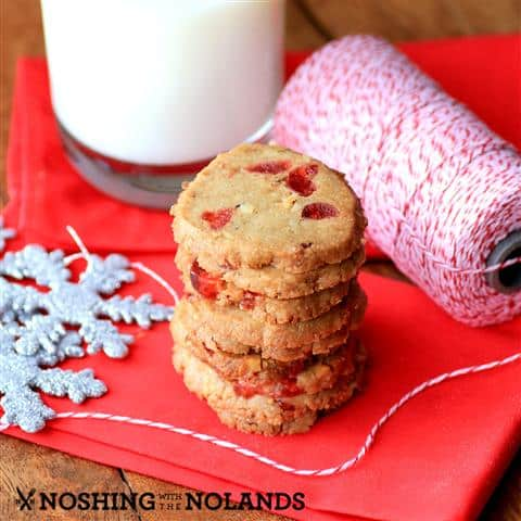 Fruit and Nut Shortbread by Noshing With The Nolands