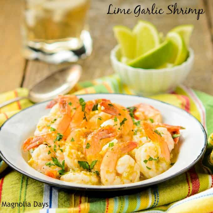 Lime Garlic Shrimp by Magnolia Days