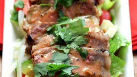 Mango Chili Steakhouse Salad
