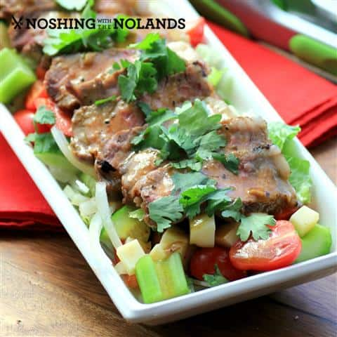 Mango Chili Steakhouse Salad by Noshing With The Nolands