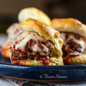 Good Luck Meatball Sliders – Flavor Mosaic