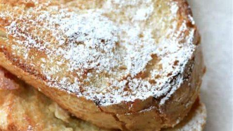 Overnight French Toast #CanadianEggs