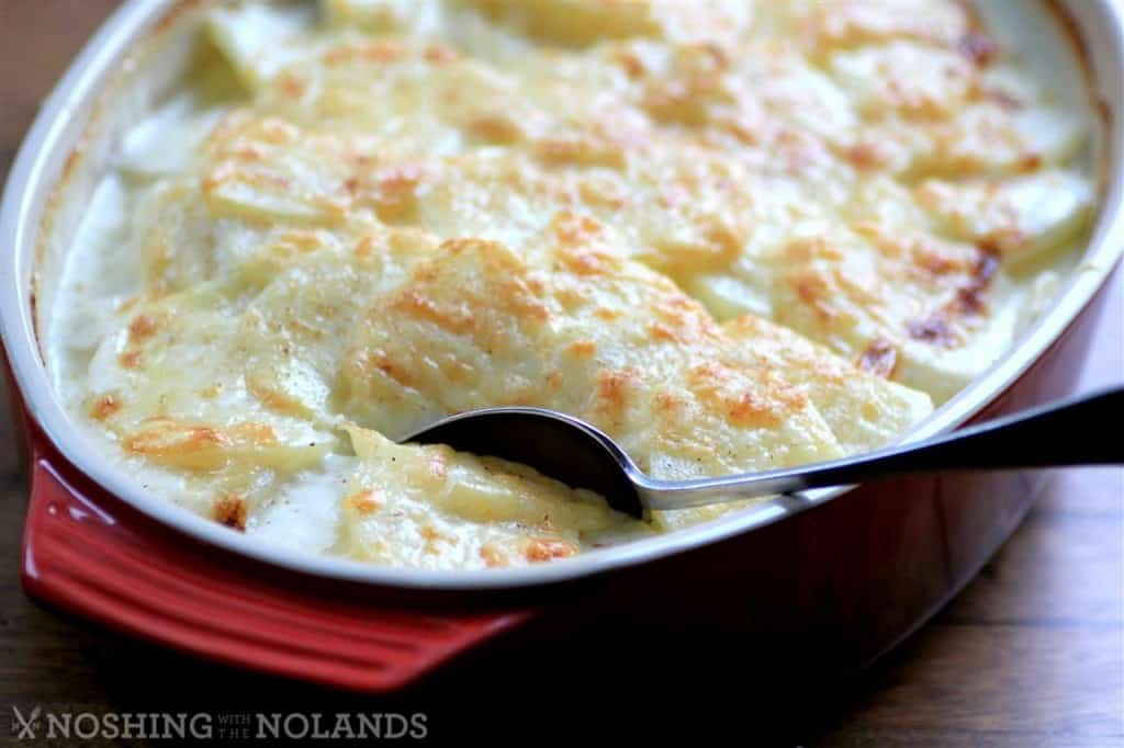Potatoes Dauphinoise #LeCreuset by Noshing With The Nolands