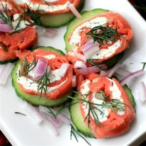 Smoked Salmon Twirls