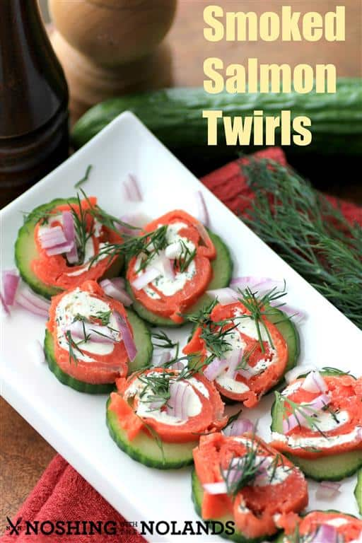 Smoked Salmon Twirls by Noshing With The Nolands