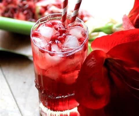 Southern Pomegranate Sparkler #SundaySupper