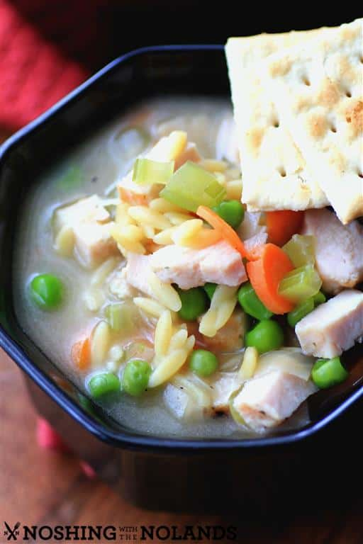 Chicken Orzo Soup by Noshing With The Nolands