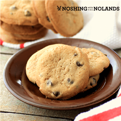 Cookie Butter Chocolate Chip Cookies by Noshing With The Nolands