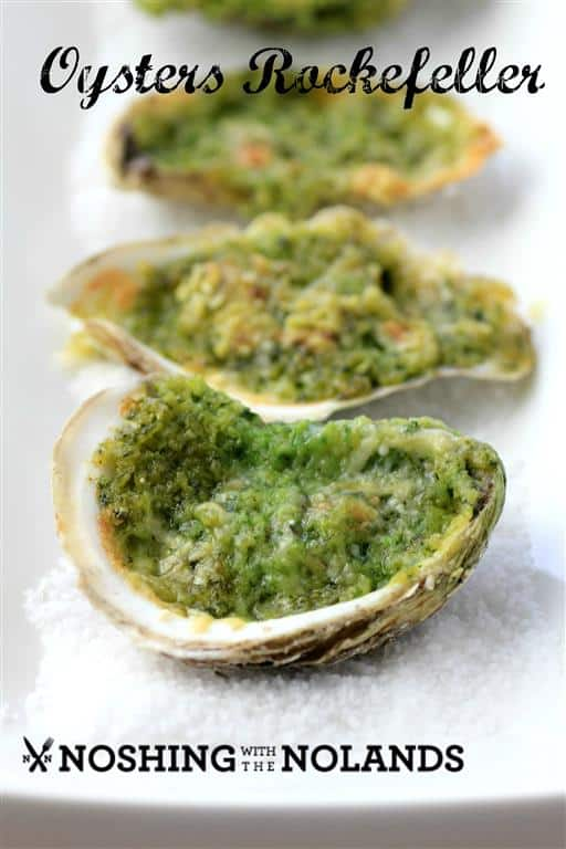 Oysters Rockefeller by Noshing With The Nolands
