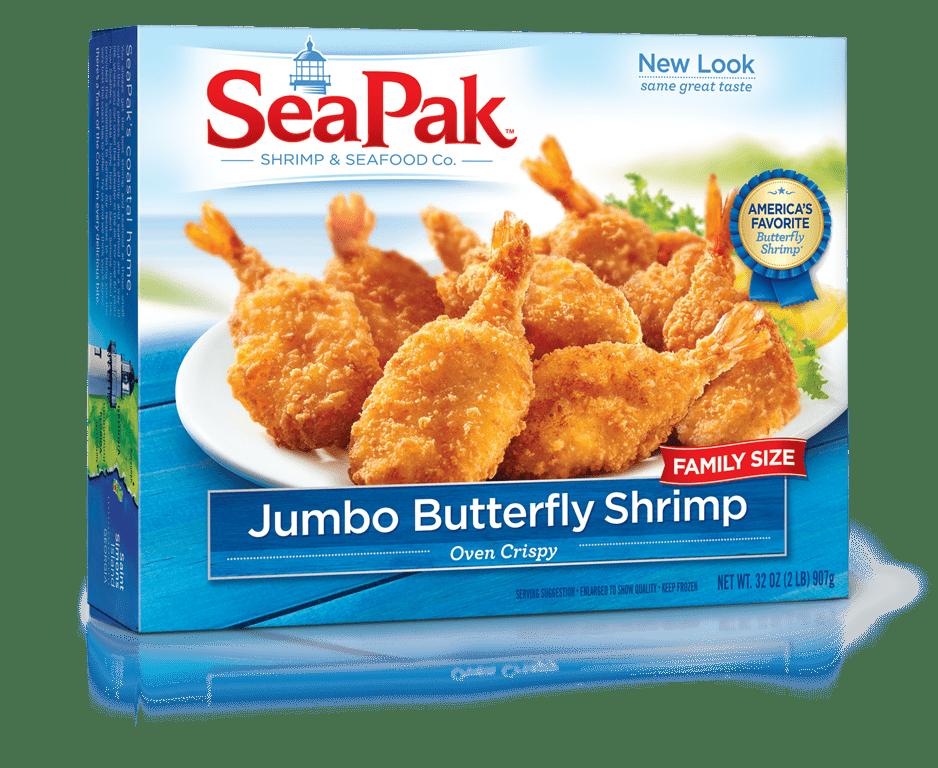 SeaPak Jumbo Butterfly Shrimp