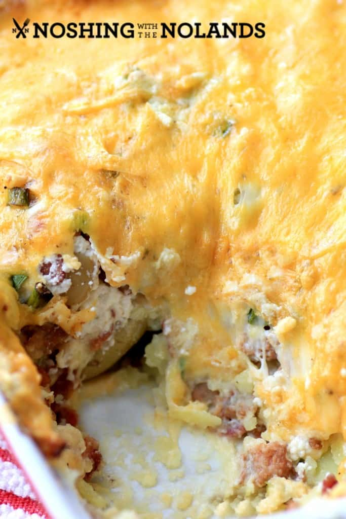 Bake Little Potato Casserole by Noshing With The Nolands