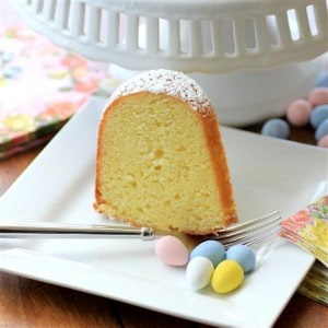 Brunch Lemon Bundt #CanadianEggs