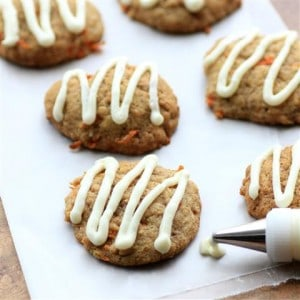 Carrot Cake Cookies #SundaySupper