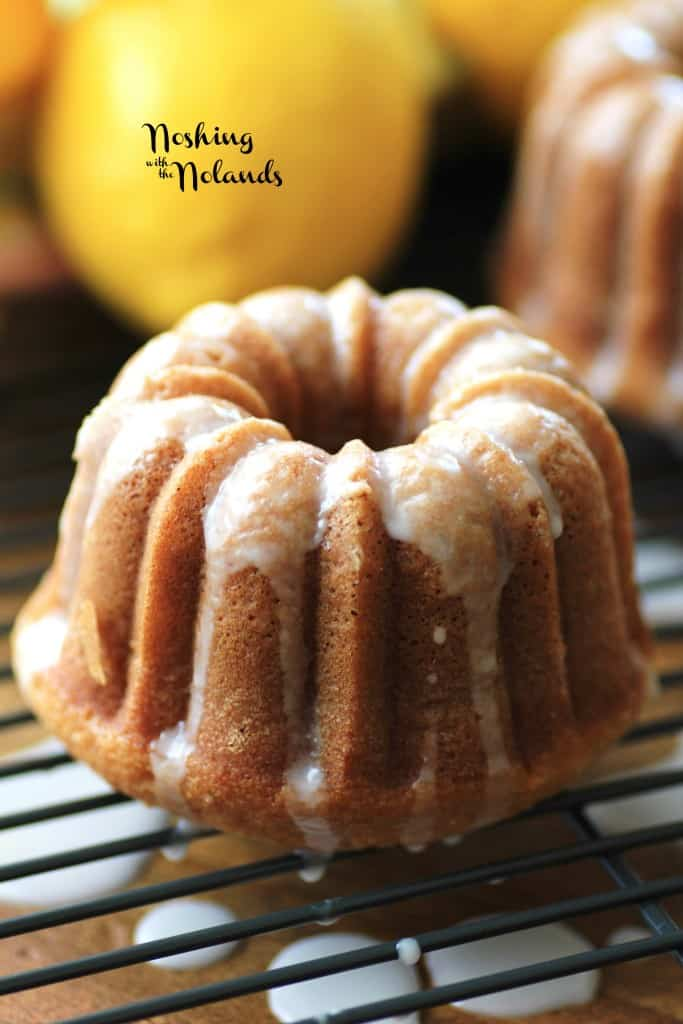 Mini Lemon Spring Bundts by Noshing With The Nolands