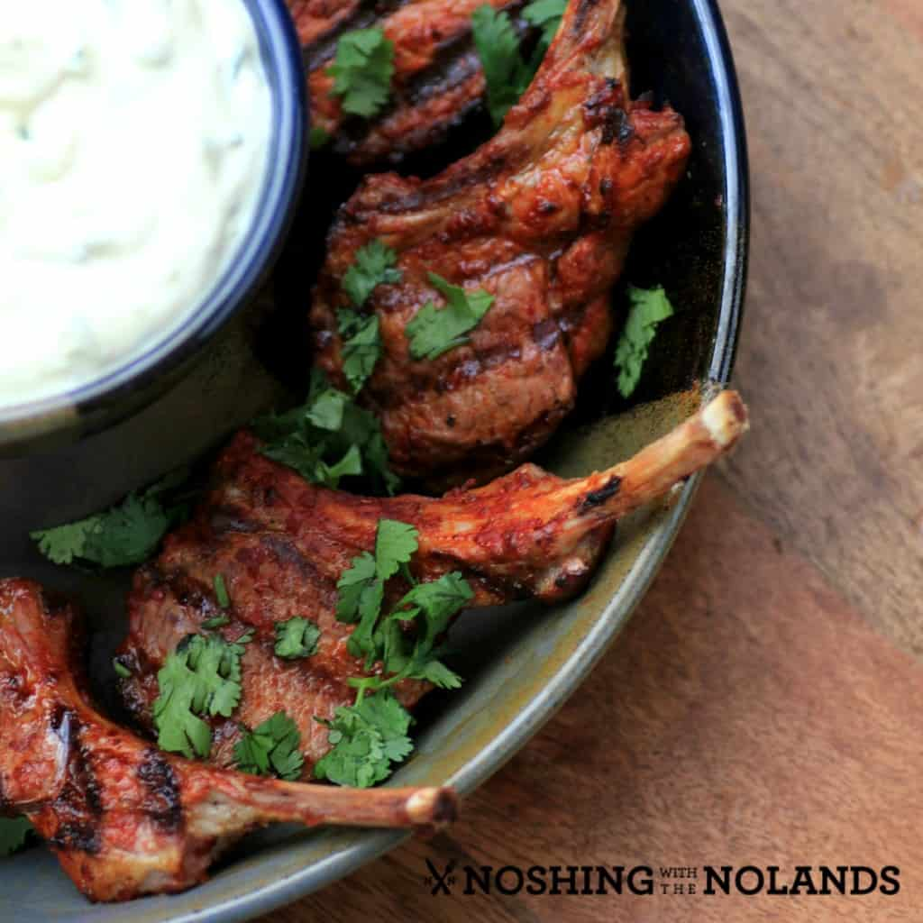 Mustard Harissa Lambsicles by Noshing With The Nolands